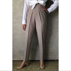 VINTAGE | Super high waisted dress pants